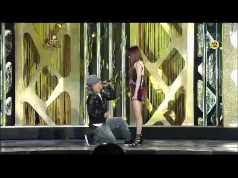 You and I ~ Park Bom ft Taeyang (SBS Gayo Daejun 2009)