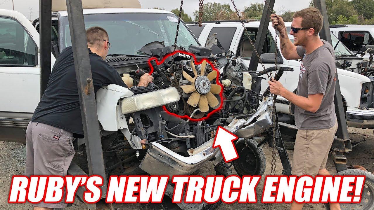 finding-the-auction-corvette-a-new-junkyard-truck-engine-super-cheap