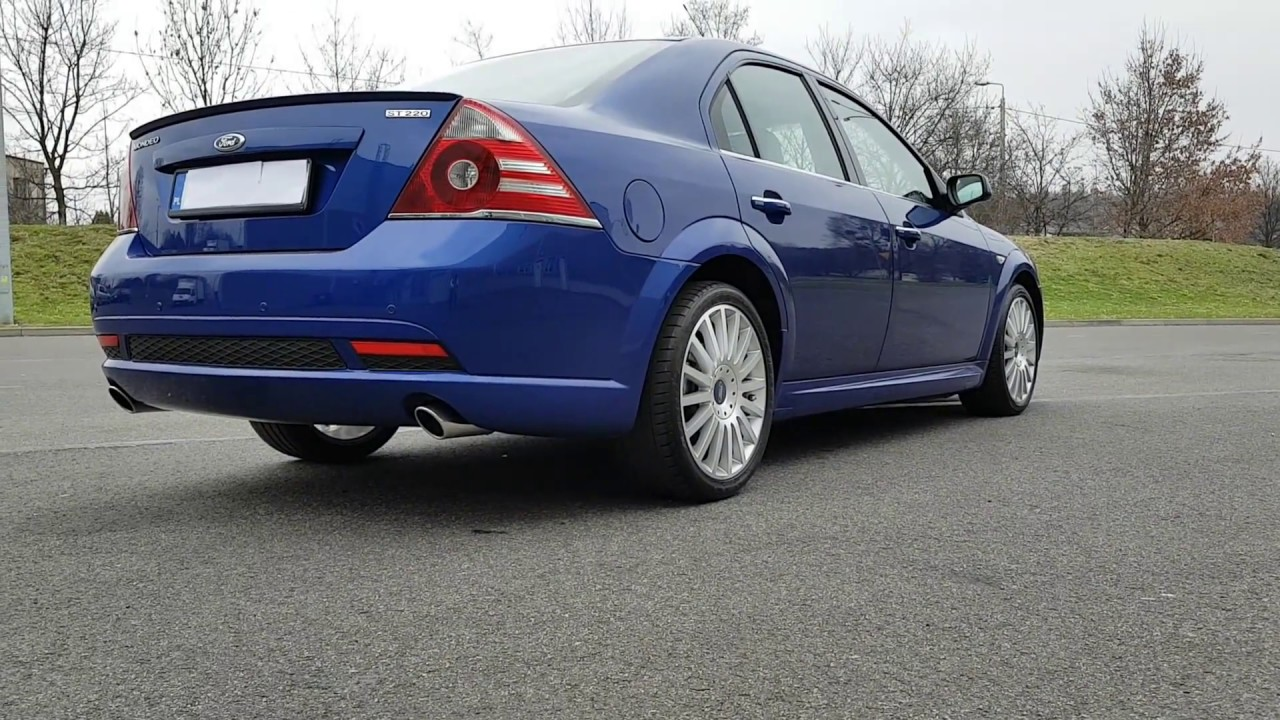 ford mondeo st220 sedan 3 0 v6 226km blue performance ii lift 2006 youtube. Black Bedroom Furniture Sets. Home Design Ideas