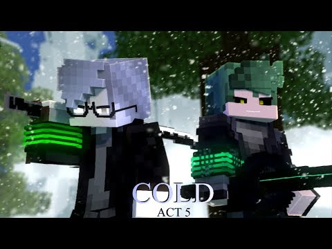 """COLD"" - A Minecraft Original Music Video ♪"