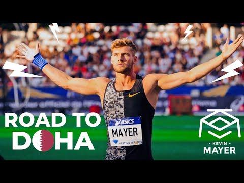 Kevin MAYER - Préparation Pour Les Championnats Du Monde De Doha