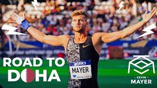 kevin mayer prparation pour les championnats du monde de doha