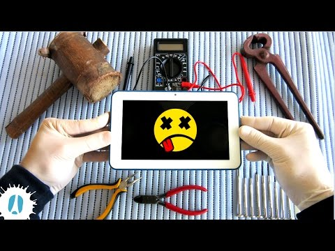 10 Things You Can Reuse Inside A Dead Tablet / HOW TO Disassemble And Recover Parts #Tablet
