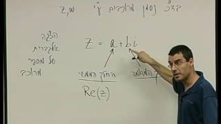 מספרים מרוכבים 3 תיאור של מספר מרוכב