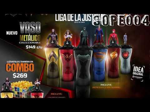 ¡A La Venta Los Vasos De Justice League!   El Precio Del Combo   Cinemex