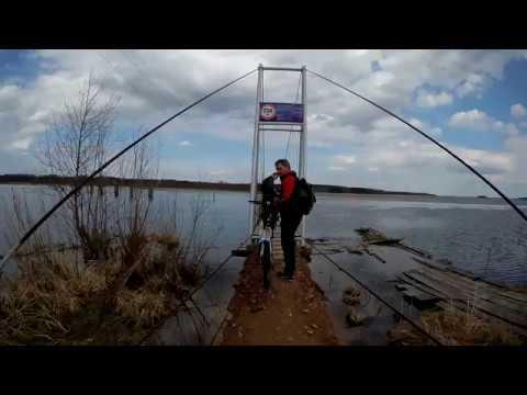 Вышневолоцкое водохранилище и могила МИ Сердюкова