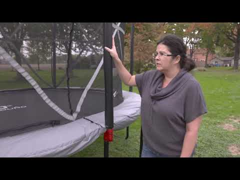 Outbound Oval Trampoline With Safety Enclosure - Testimonial
