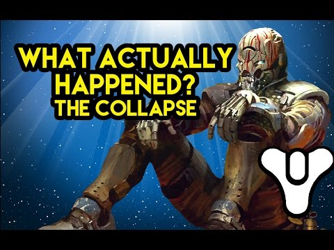 Destiny Lore The Collapse : What actually happened?
