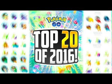 Pokemon Go - The Top 20 BEST Pokemon Go Sightings of 2016! (CRAZIEST Pokemon Go Sightings EVER!)