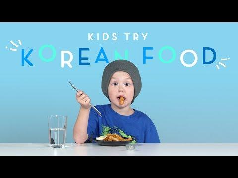 Kids Try Korean Food   Kids Try   HiHo Kids