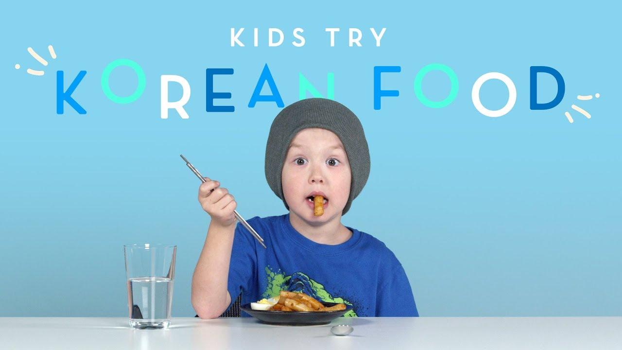Kids Try Korean Food   Kids Try   HiHo Kids - YouTubeKorean Toddler Youtube