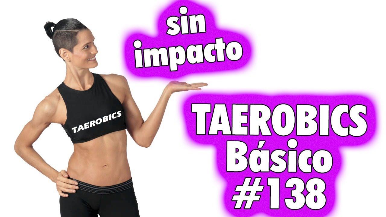 TAEROBICS Básico:  Sin Impacto #138 - Rutina de Entrenamiento Apta para Principiantes