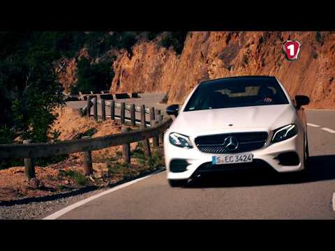 """""""Первый тест"""" тест-драйв нового Mercedes E Class Coupe 4K"""