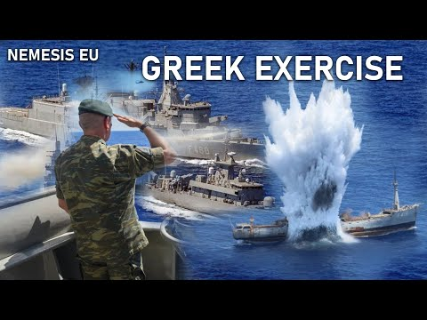 SHOW OF FORCE - GREEK NAVY & AIRFORCE CONDUCT ANTI-SHIP DRILLS IN EAST MED SEA
