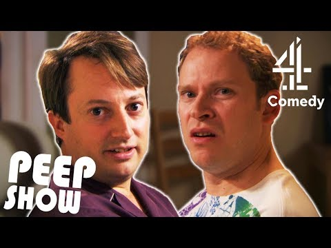 Mark Teaches Jeremy How to Read a Book | Peep Show