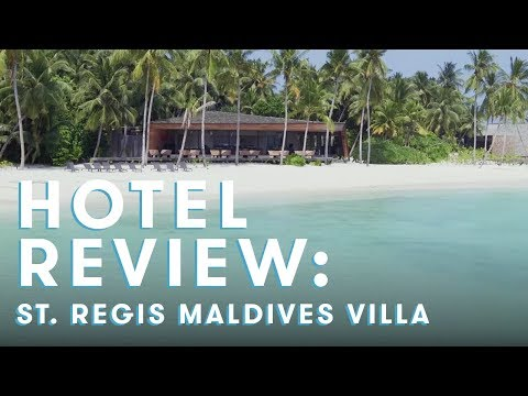St. Regis Maldives Overwater Villa Review
