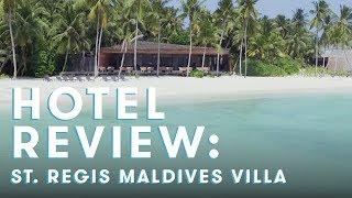 St. Regis Maldives Overwater Villa Review
