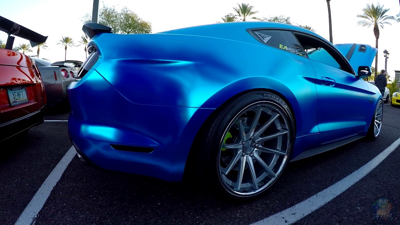 Supercharged Wrapped Ford Mustang 5.0 - YouTube