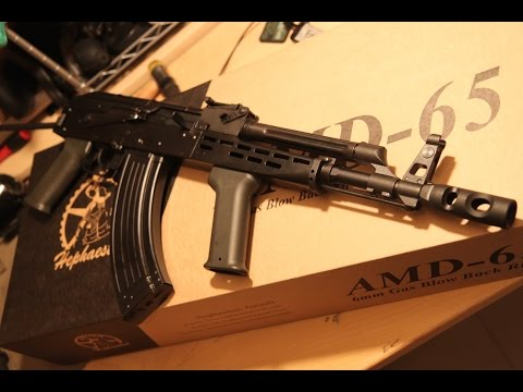 Hephaestus AMD65 GHK AK GBB! - Short Review
