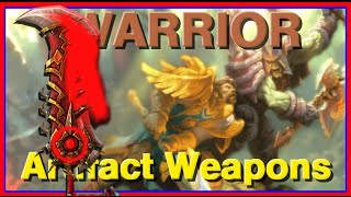 WoW Legion Beta Artifact Weapons - Warrior