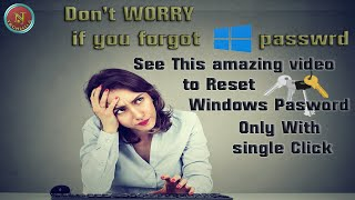 Easiest Tip to Reset the Laptop or Desktop windows Admin Password|| NJ TECHWILE