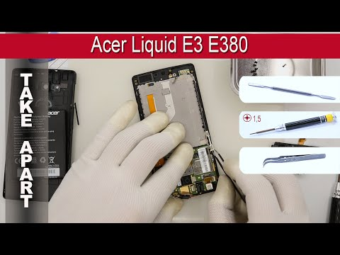 How to disassemble 📱 Acer Liquid E3 E380 Take apart Tutorial