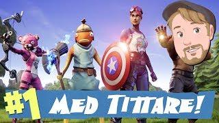 Thanos vs Avengers! - Endgame i FORTNITE på Svenska (Med tittare)