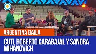 Cuti y Roberto Carabajal + Sandra Mihanovich en #ArgentinaBaila
