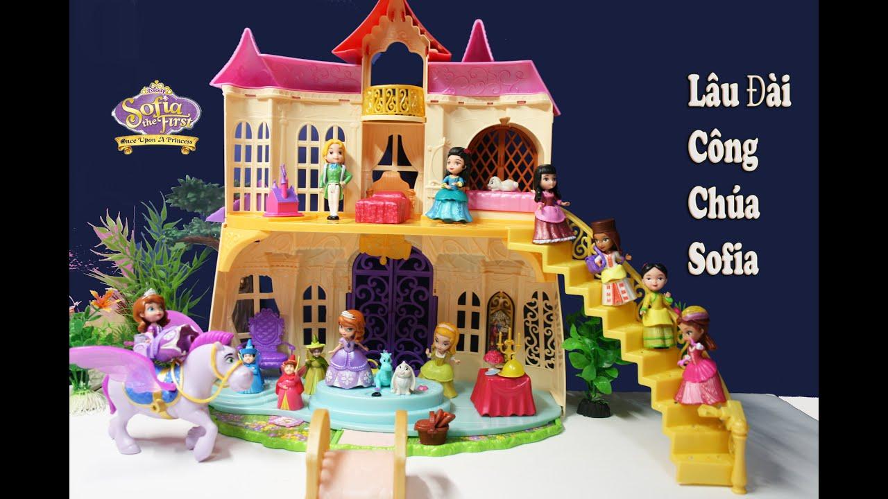 Đồ Chơi Lâu Đài  Công Chúa Disney Sofia The First (Thùy Hương) Magical Talking Castle