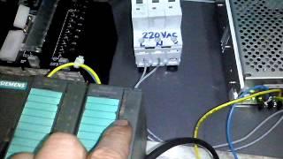 siemens S7 300 to MP277 HMI
