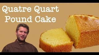 French Pound Cake Recipe - 'quatre Quarts' (using Goose Egg)