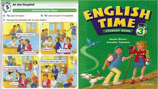 Unit 5 At the Hospital   English Time 3 student books   By bunleng mdk