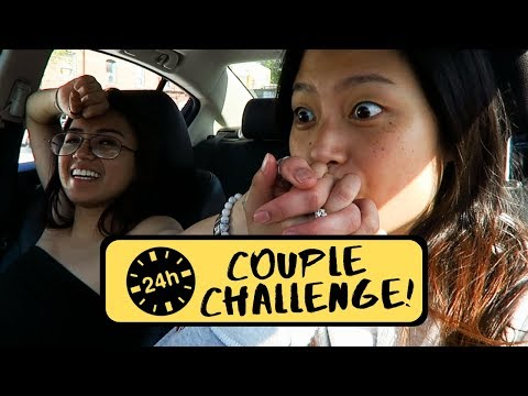 24 Hour Couple Challenge With My YouTube Crush