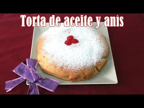 TORTA DE ACEITE Y ANÍS ( FÁCIL Y  EXQUISITA )