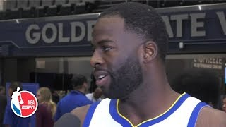 Steph Curry, Klay Thompson still here? We're still contenders – Draymond Green | 2019 NBA Media Day