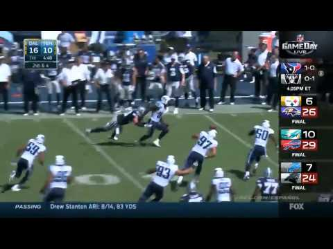 Dallas Cowboys at Tenesse Titans 26-10 Highlights | Week 2 NFL 2014-15