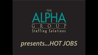 The Alpha Group's Hot Job of the Week - Finance Manager
