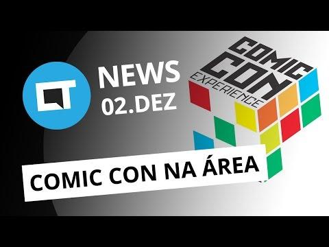 Comic Con Experience, Fim da linha Lenovo Vibe, Apple Watch redondo e + [CT News]