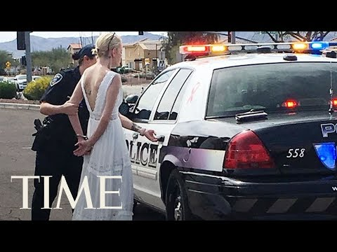 Bride Arrested After Crashing Car On The Way To Her Own Wedding In Arizona, Police Say   TIME