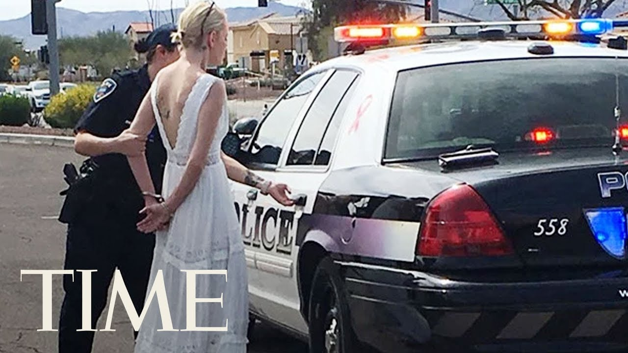 Bride Arrested After Crashing Car On The Way To Her Own Wedding In Arizona, Police Say