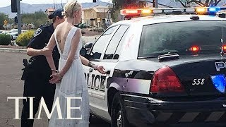Bride Arrested After Crashing Car On The Way To Her Own Wedding In Arizona, Police Say | TIME