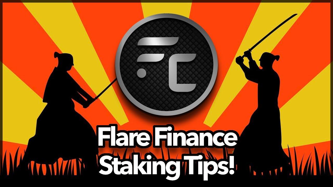 Flare Finance Beta - Staking Tips