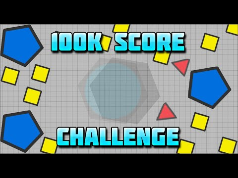 Landmine HIDDEN in FFA | 100k Challenge | DIEPIO / DIEP.IO