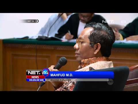 NET24 - Mahfud MD mengaku pernah didatangi gubernur Banten Ratu Atut Choisiyah