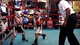 NY BOXING TOURNAMENT 2015 : SEBASTIAN ACEVEDO / ADAM ZAYAS : PEEWEE 70 lb . 3 rounds