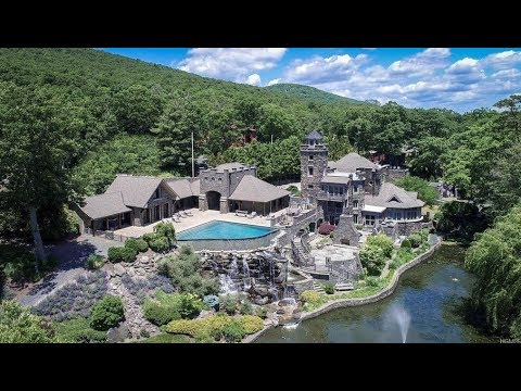 Stunning $15 Million 12,500 SQ FT 6 Bed 12 Bath Castle in Greenwood Lake New York USA