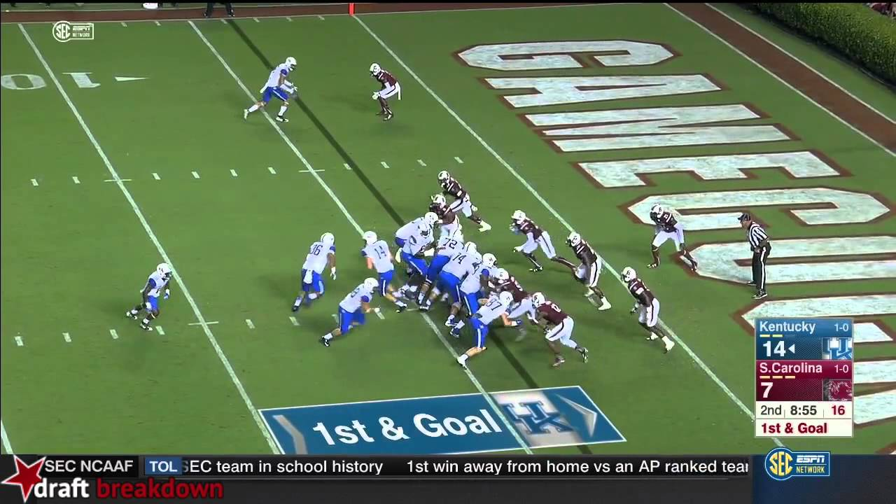 Patrick Towles Vs South Carolina 2015
