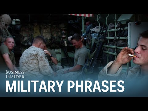 6 Coolest Phrases Only People In The Military Understand