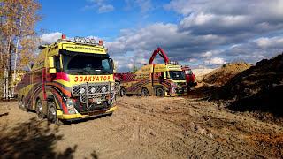 Вытаскивание земснаряда на берег, вытаскивание баржы, вытаскивание парахода(, 2017-10-21T18:59:49.000Z)