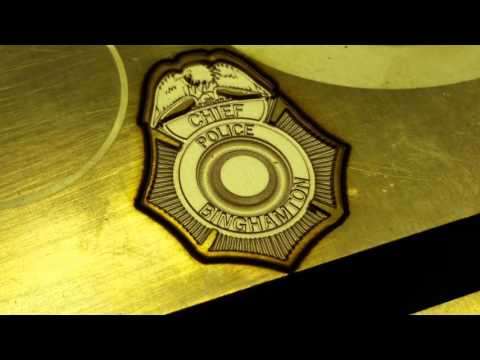 3D laser engraving in Gold and precious metals